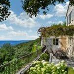 6. Beautiful Villa Garden Blue Sky France