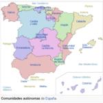 Comunidades Autómas de Espana