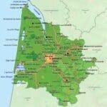 Gironde map